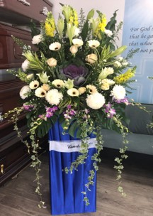 floral wreath - Singapore Funeral Flowers